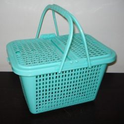 Plastic picknickmand Aqua Boross design