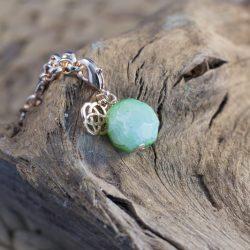 BIBA groene steen hanger