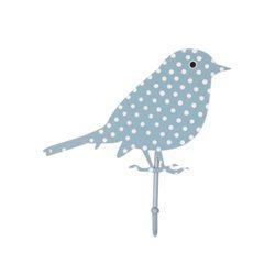 Blauw Bird haakje
