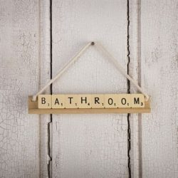 scrabble bathroom