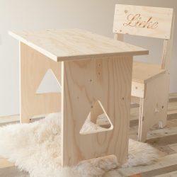 houten set Triangle