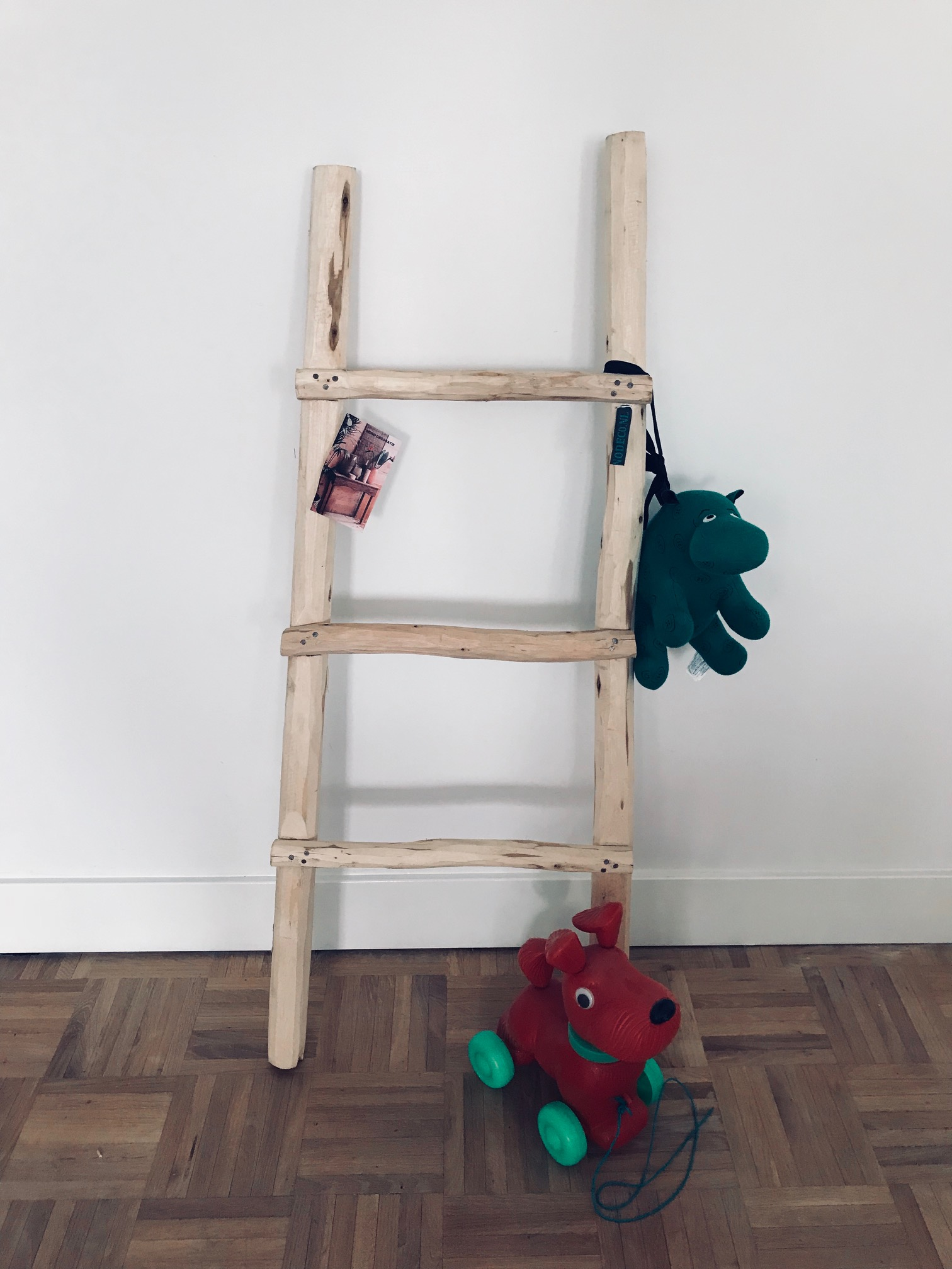 Geliefde decoratie ladder babykamer wq44 for Decoratie ladder blokker
