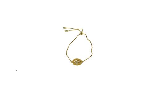 goudkleurige armband -levensboom